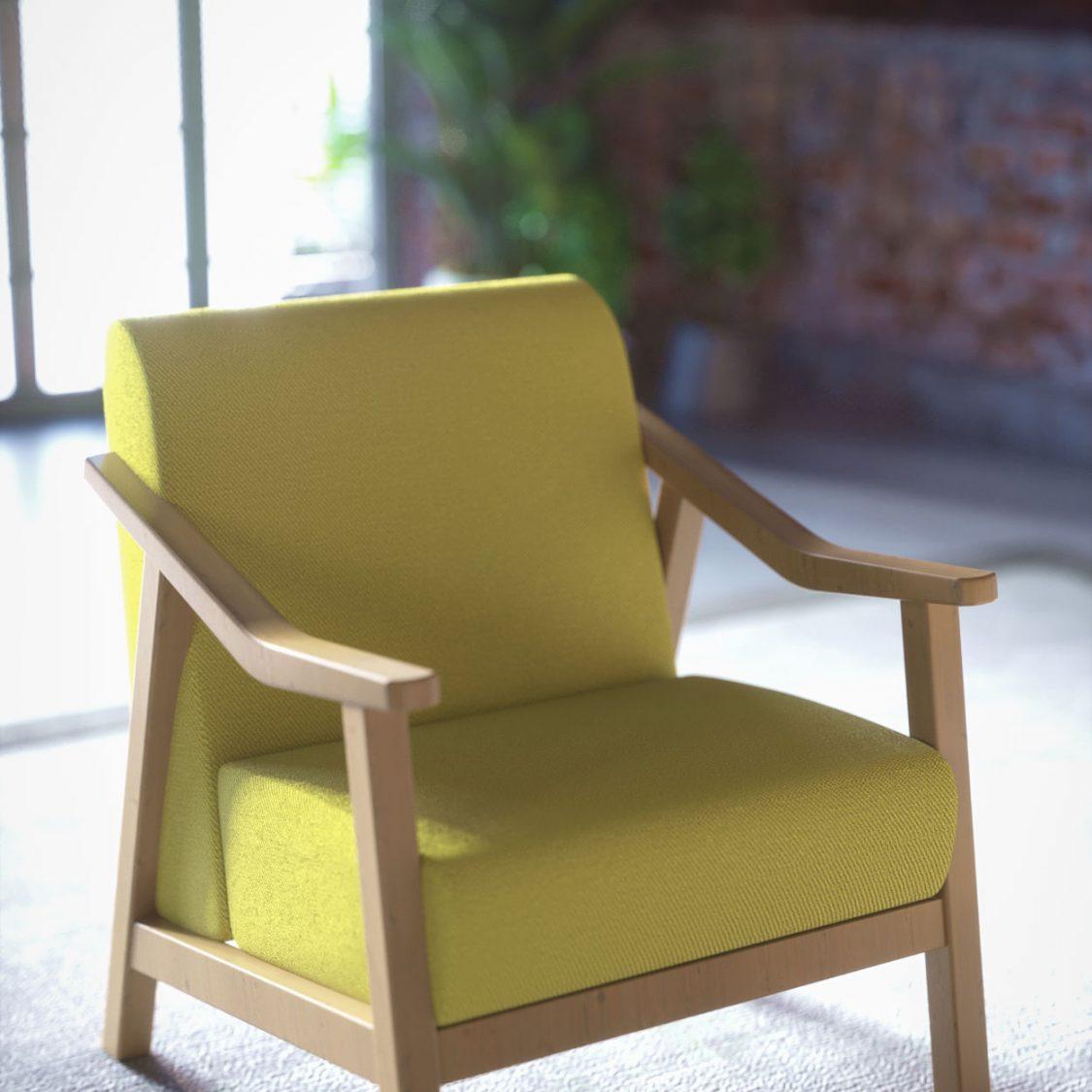 prodect renders, sofa rendering
