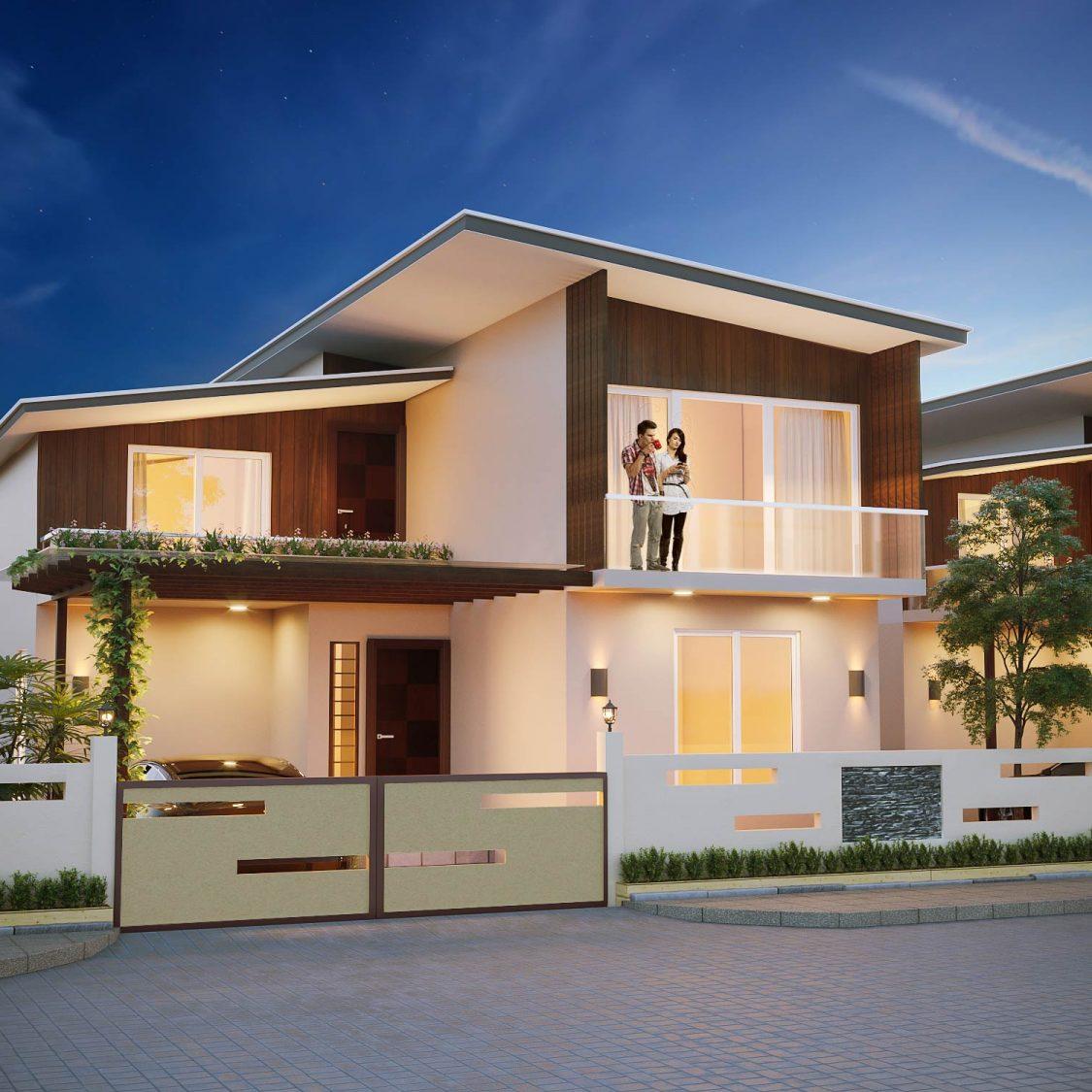 architectural rendering g